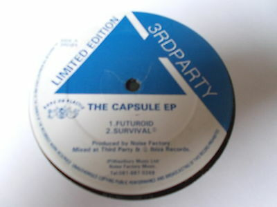 "Noise Factory The Capsule EP 12"" 3rd Party 1992 3RD#4"