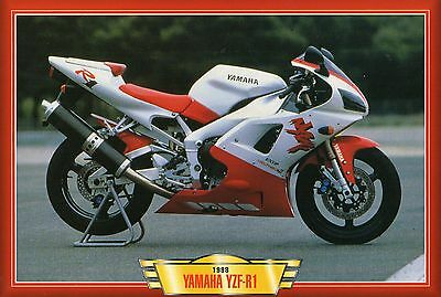 Yamaha YZF-R1   1998      Motorcycle             Glossy   Picture (TA16)