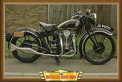 Matchless Silver Hawk  1934       Motorcycle             Glossy   Picture (TA22)