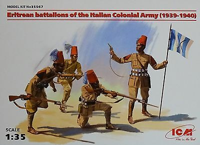 ICM 35567 Eritrean Battalions of the Italian Colonian Army (1939-1940) in 1:35