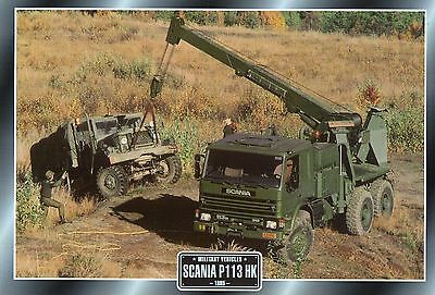 Scania P113 HK Military Truck     Glossy   Picture (TA52)