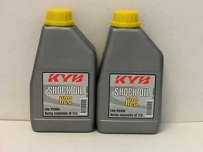 19,50€/l Kayaba shock oil 2 x 1 Ltr KYB K2C racing suspension oil
