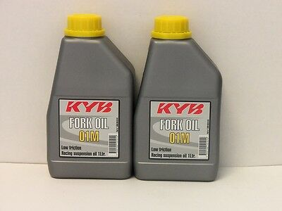 25,90€/l Kayaba fork oil 5W 2 x 1 Ltr KYB 01M  racing suspension oil