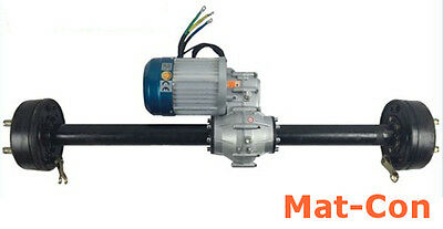 Transaxle differential geared electric motor 3KW-5KW 48V BLDC for-/backward