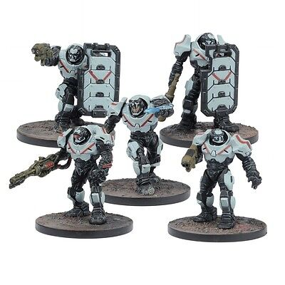 Mantic Games BNIB Deadzone V2 Enforcer Peacekeepers MGWPE303