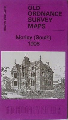 Old Ordnance Survey Map Morley  (South) near Leeds Yorks 1906 S232.08 New