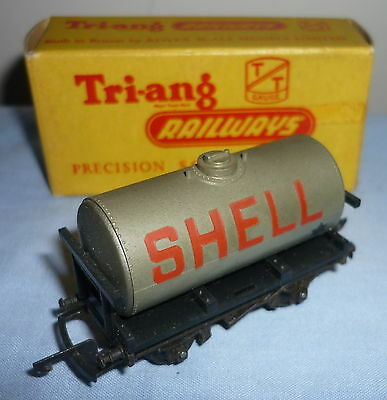 Triang Tt Gauge Tank Wagon Shell Bp T73 Boxed