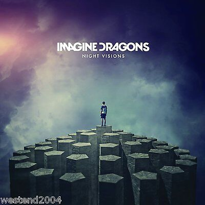 Imagine Dragons ~ Night Visions ~ NEW CD Album ~ It's Time, Radioactive, Demons