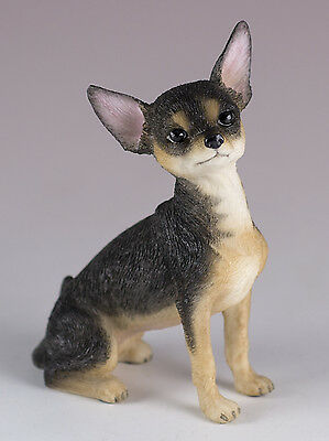 """Chihuahua Dog Figurine 3.25"""" High - Highly Detailed New In Box"""