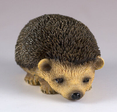 "Hedgehog Figurine 3"" Long - Highly Detailed Polystone New In Box"