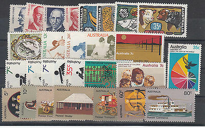 1972 year collection .27 stamps. MNH / cheap