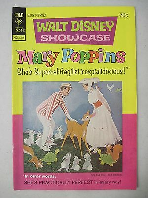 Walt Disney Showcase #17 Mary Poppins 1973 Gold Key Comics Julie Andrews