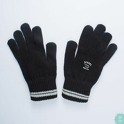 Nwt!  $25 Diesel Boys Winter Lightweight Gloves Black Size 03