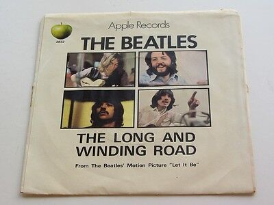 The Beatles  Original 1970 U.s.a.  45  The Long And Winding Road