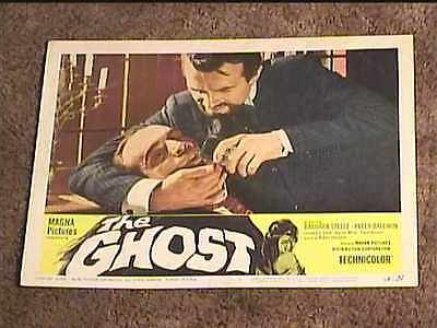 Ghost 1966 Lobby Card #1 Horror Torture