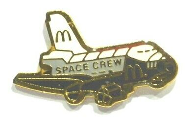 Pins Mac Donald's Navette Spatiale Espace Challenger Fast Food
