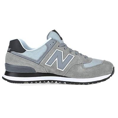 New Balance 574 Core Plus Grey Mens Trainers