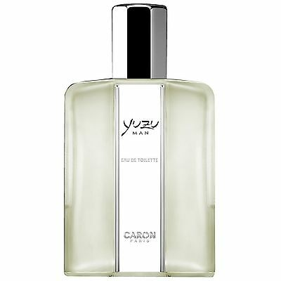 NEW Caron Yuzu Man Eau de Toilette Spray 125ml Fragrance FREE P&P