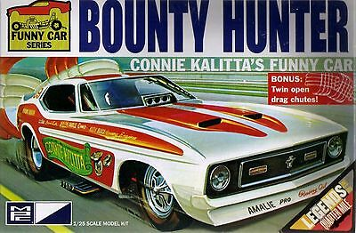 MPC CONNIE KALITTA'S MUSTANG FUNNY CAR BOUNTY HUNTER model kit 1/25