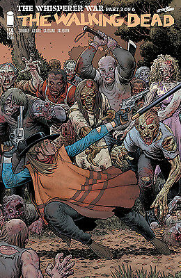 The Walking Dead #159 Whisperer War Part 3 Adams Connecting Variant
