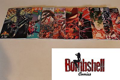 Mighty Morphin Power Rangers 0 1 2 3 4 5 6 7 8 Complete Set Comic Lot Set 3rd