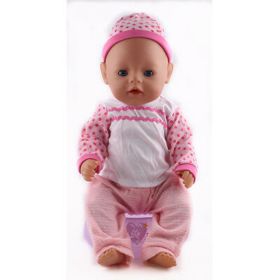1set Doll Clothes Wearfor 43cm Baby Born zapf (only sell clothes ) N132
