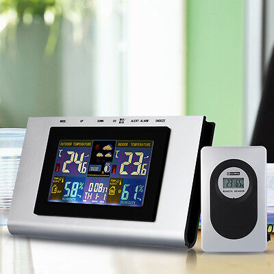 Wireless Weather Station Precision Forecast Temperature Humidity Barometer