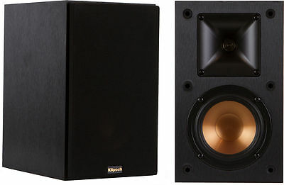 Pair Bookshelf Speakers Klipsch R-14M R14 M R14M Brand New ! Warranty