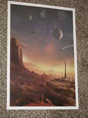 JOHN CARTER MONDO VERSION 13.5x19.5 PROMO MOVIE POSTER