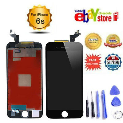 """For 4.7"""" iPhone 6S LCD Screen Replacement Digitizer Touch Display White UK"""