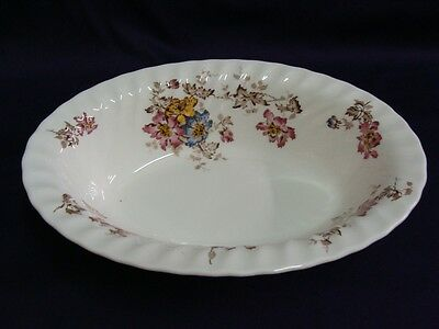 """Minton China Vermont S-365 Oval Vegetable Bowl 10-1/4"""""""