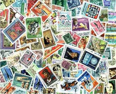 Hungary Stamp Collection - 800 Different Stamps