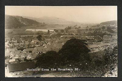 Mochdre - from the Mountain Road - real photographic postcard