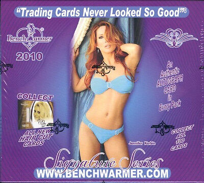 Benchwarmer Signature Series International Hobby Box 2010 Sealed/ orig. pack.