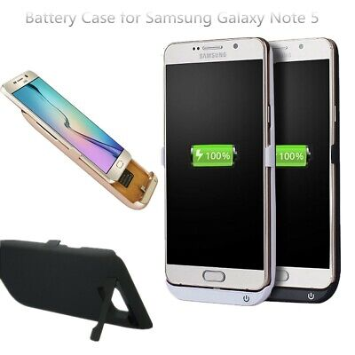 5200mAh Backup Battery Case Cover Charger Power Bank for Samsung Galaxy Note 5