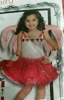 Hearts Fairy COSTUME Amy Brown 2-4t girls TODDLER NEW TOOO CUTE