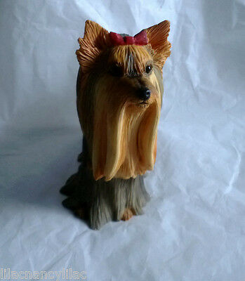 Mib Country Artists Yorkie Standing Yorkshire Terrier