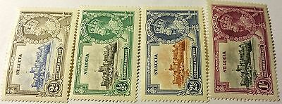 St.lucia Scott#4 Cpl Set  Mint Set  Stamp ...worldwide Stamps