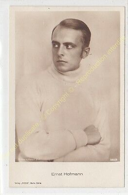 RPPC CPSM STAR ERNST HOFMANN photo Edit ROSS 332/5