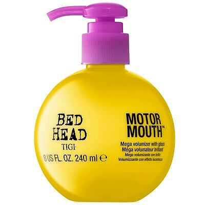 NEW TIGI Bed Head Thickening and Volumizing Motor Mouth 240ml FREE P&P