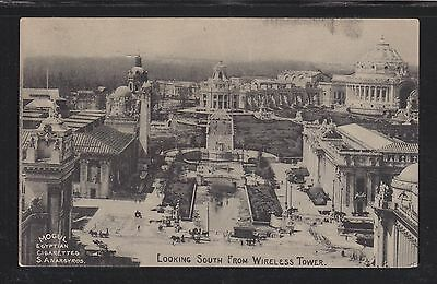 Usa 1904 St Louis World's Fair Postcard Looking West From Wireless Tower Unused