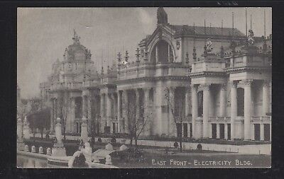 Usa 1904 St Louis World's Fair Postcard Electricity Building Unused