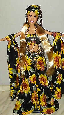 OOAK Sunflower Gypsy Fantasy Custom Artist Barbie Doll