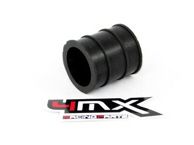 4MX EXHAUST TO MUFFLER SILICONE RUBBER SEAL/SLEEVE 2 STROKE  30mm ID -  BLACK