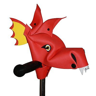 Handlebar Heroes - Bike/Scooter Accessory - Inferious Red Dragonasaur
