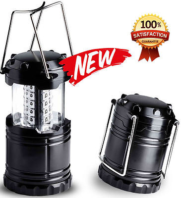 Ultra Bright Collapsible 30 Led Lightweight Camping Lantern Light Hiking Lamp