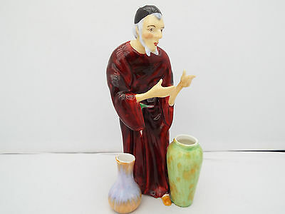 STAFFORDSHIRE CHINA RARE COLOURWAY FIGURE BY ARTHUR BOWKER (FOLEY) 1930s/40s