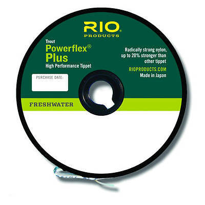 RIO Powerflex Plus Tippet 50 Yard Spool Freshwater Fly Fishing