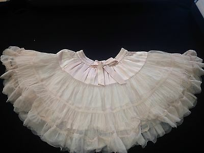 Girl's Next Lovely Tutu Big Skirt Pink With Bow Age 7 Years  Rrp £32.00