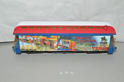 On30 scale Hawthorn Village Bachmann Texas State HOUSTON passenger car